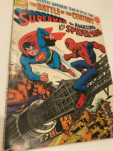 Superman Versus The Amazing Spider-Man The Battle Of The ...