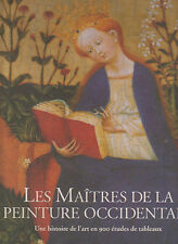 LES MAITRES DE LA PEINTURE OCCIDENTALE 900 études de tableaux coffret