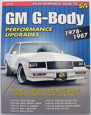 GM G-Body Performance Projects 1978-1987 by Joe Hinds (2013, Paperback)