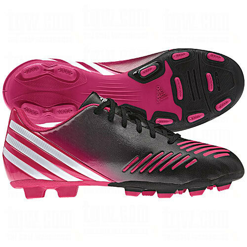 Adidas Predito LZTRX FG 2012 WOMEN Soccer shoes Pink White Black Brand New