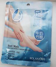 milk and vinegar foot peel works like magic