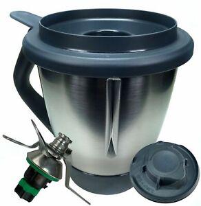 Vorwerk-Thermomix-TM6-Mixtopf-inkl-Messer-Deckel-Messbecher-Topf-TM-6-NEU-OVP