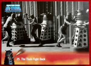 Dr Doctor Who Big Screen Base Card Set Daleks ~ New Full 100 Card Base Set