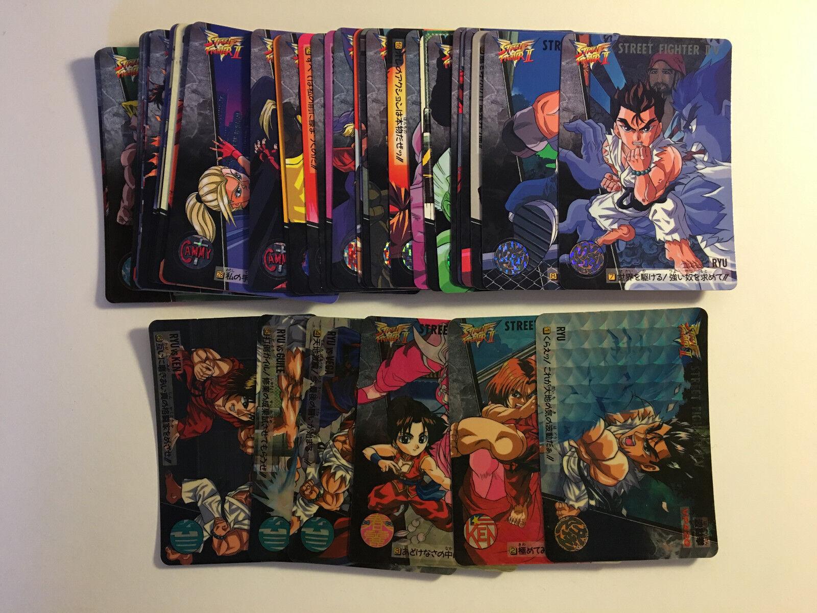 Street Fighter II V Carddass Full Set 42 42