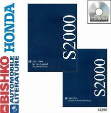 2000 2002 2005 2007 2009 Honda S2000 Shop Service Repair Manual CD Engine Wiring