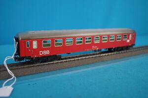 Marklin-4045-DSB-Express-Coach-Red-version-4-Tin-Plate-OVP