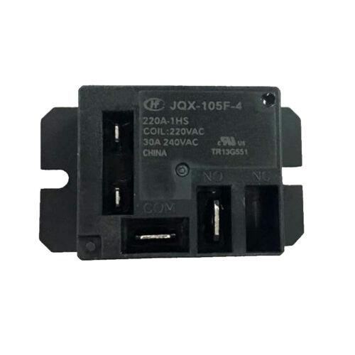 Qualité JQX-105F-4 220A-1HS miniture Haute Puissance Relais 220VAC Bobine 30 A de charge