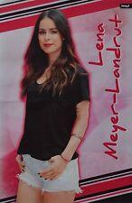 LENA MEYER-LANDRUT - A3 Poster (ca. 42 x 28 cm) - Clippings Fan Sammlung NEU