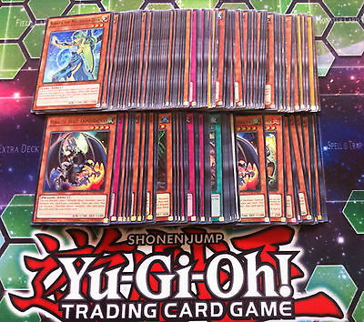 YuGiOh Lot 100 Cards Bundle Includes 25 Rare or Higher Cards for Sale