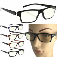 Computer Glasses Anti Glare Reflective Tinted Uv Protection Reading +0 Tablet Tv