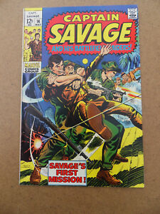 Captain-Savage-14-Marvel-1969-FN-VF