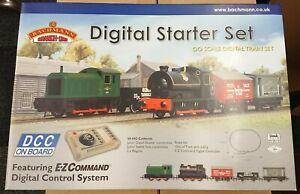 RARE-Bachmann-30-042-Digital-Starter-Set-OO-Gauge-Digital-Train-Set-NEW