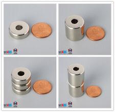 N52 19mm 34 Outer Diameter Rare Earth Neodymium Ring Magnets