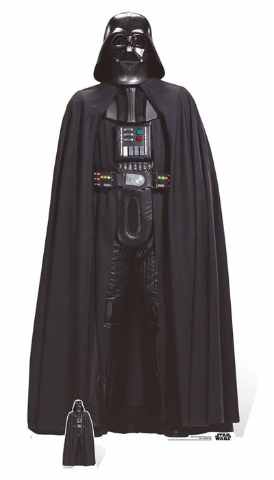 Darth Vader Dark Dark Dark Lord Rogue One  A Star Wars Story LifeGröße Cardboard Cutout 41fef8
