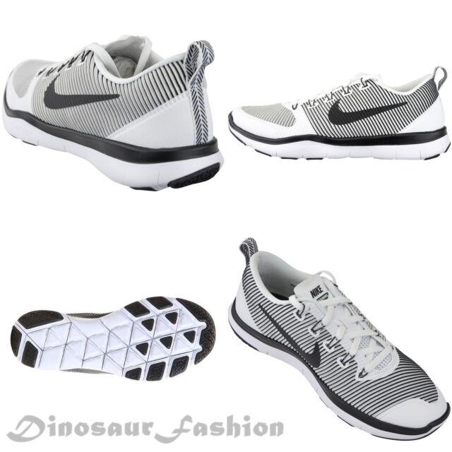 3ca6978a3e18 Men s Nike Train Versatility Shoes Size 14 White Black 833258 100 ...