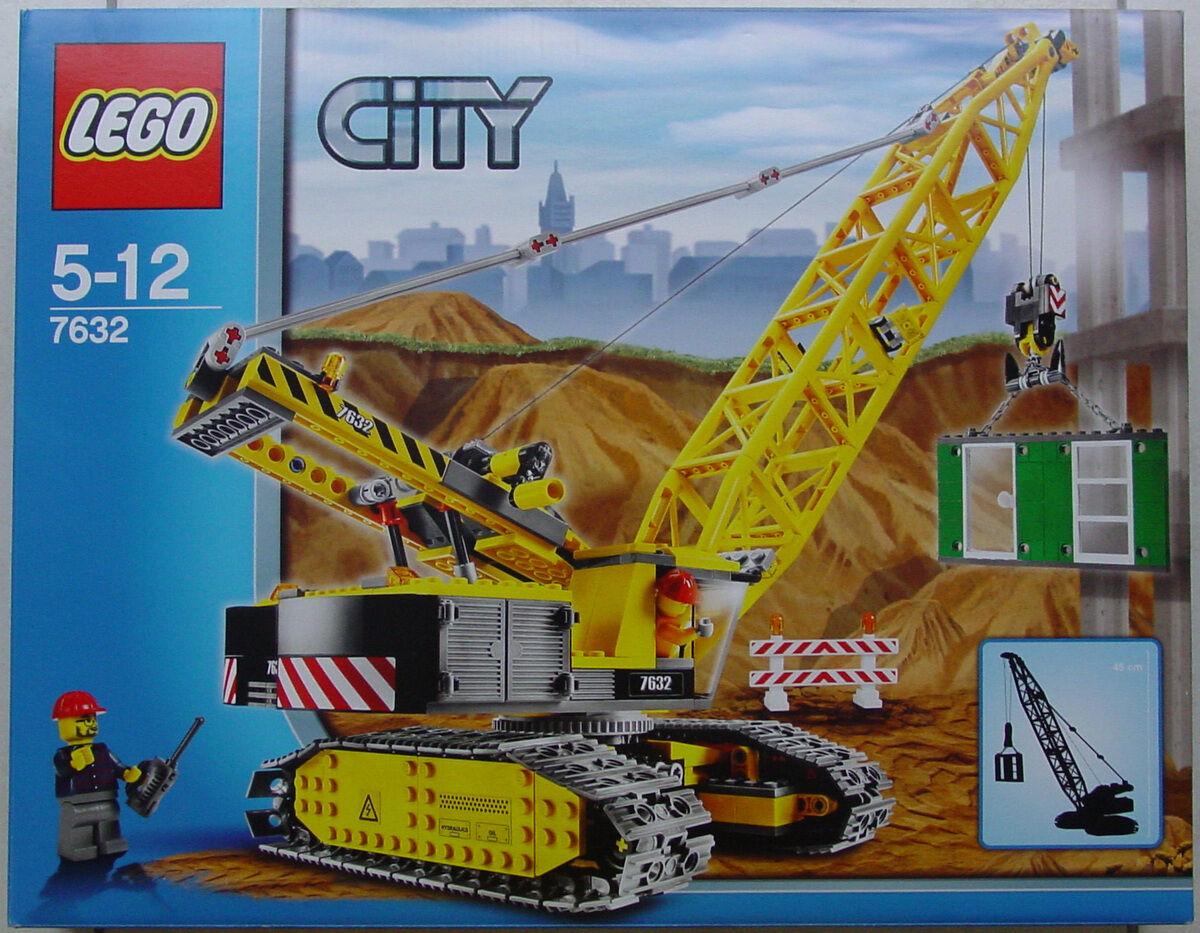 Nuovo Lego Town Città Costruzione 7632 Cingolato Gru Sigillato