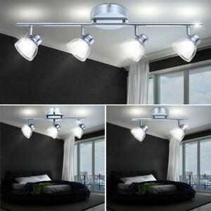 LED PLAFOND DESIGN SPOT lampe projecteur mobile éclairage CHROME LA ...