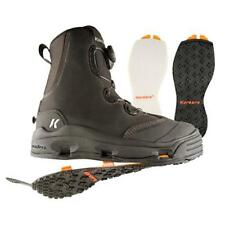 SIZE 13 KORKERS DEVILS CANYON WADING FISHING BOOT FELT + KLING-ON RUBBER SOLES