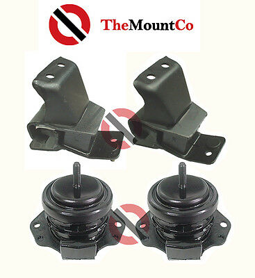 MANUAL Engine Mount Set to suit Pajero NS, NM, NP, NM TD, NP TD  00-on
