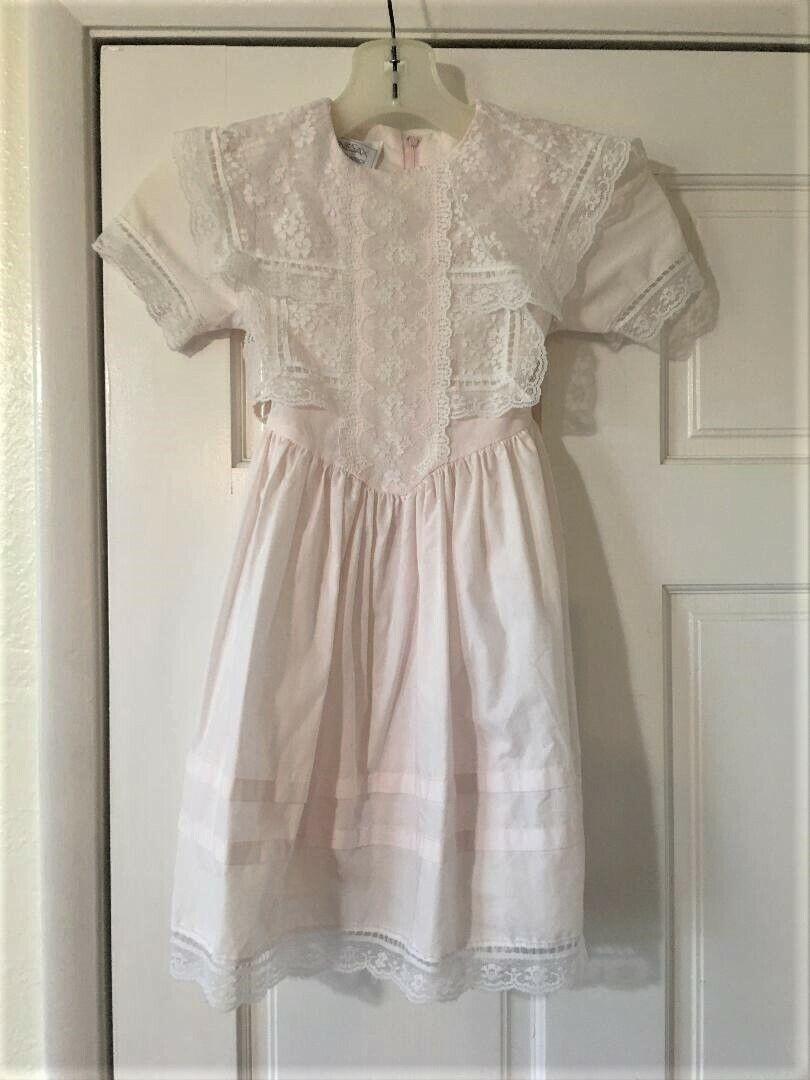 Vintage Girls Toddler Size 5 Gunne Sax Dress Prai… - image 12