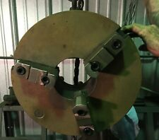 Bison Self Centering 3 Jaw Lathe Chuck 16 Dia D1 6 Camlock Back Plate And Key