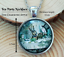 Tea Party Necklace/_Alice in Wonderland/_Jewellery/_Silver/_Accessory/_Gift