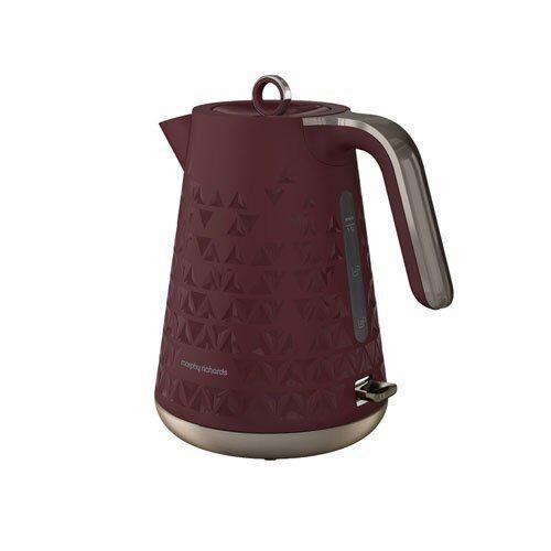 Morphy Richards 108253 Prism Fast Boil Merlot Jug Cordless Kettle 1.5L 3000W