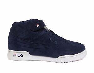 FILA SPORTS Men s F-13 PINSTRIPE Shoes Navy Red White 1VF80126-460 b ... 23e35c18555