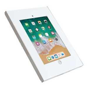 White-Economy-Anti-theft-iPad-9-7-034-Wall-Mount-Enclosure-Screw-Lock