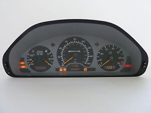 Mercedes benz c200 c220 c230 c280 w202 instrument cluster for Mercedes benz cluster repair