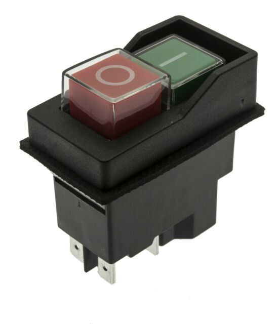 On/Off 110V Switch Fits BELLE Electric Cement Mixer Minimix 140 150