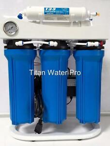 image is loading reverse osmosis water filtration system booster pump light - Commercial Water Filtration System