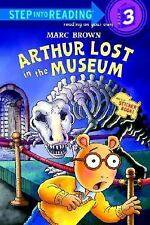 Step into Reading: Arthur Lost in the Museum by Marc Brown (2005, Paperback)