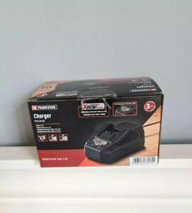 Parkside Battery Charger 20V 2Ah & 4Ah Compatible All 20v Parkside Tools New Box
