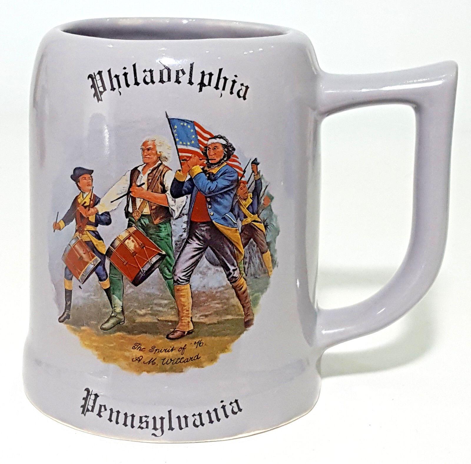 Philadelphia Mug The Spirit Of '76 Created By Walter J Seibold Salice Boschetto