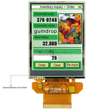 Serial Spi 28 Inch Tft Lcd Display 320x240resistive Touch Panel Withtutorial