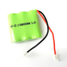4 pcs Rechargeable Ni-CD 2/3 AAA 3.6V 300mAh Battery Pack Cell 404 For Phone