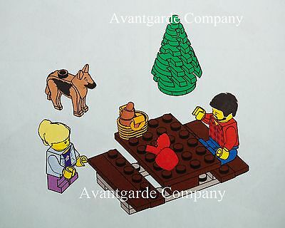 LEGO 60134 OLD COUPLE SITTING IN A BENCH MINIFIGURE NEW 100/% REAL LEGO