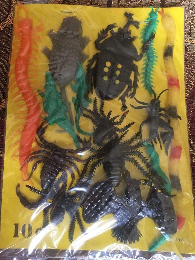 De Colección Goma Goma Goma aceitoso Jiggler Lote Hong Kong Expendedora insectos y reptiles  oferta de tienda