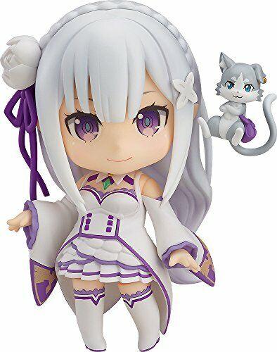 Nendoroid Re:Zero Starting Life in Another World Living Emilia Non-Scale Figure