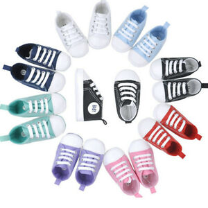 Toddler Baby Boy Girl 20 colors Portable Soft Sole Crib Shoes Infant Sneaker Pf
