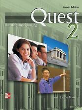 Quest 2 Listening and Speaking 2nd edition by Laurie Blass. Free Shipping!