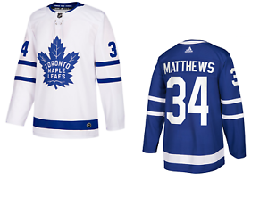 new concept dc97a 2cebe Details about Toronto Maple Leafs Auston Matthews adidas NHL Mens adizero  Authentic Pro Jersey