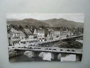 Ansichtskarte-Gernsbach-Murgtal-Igelbachstrasse-1961-Nr-630