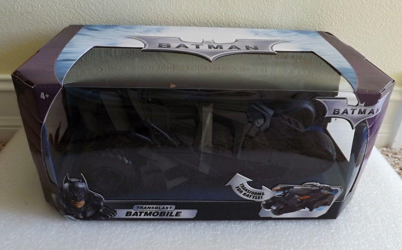 Mattel dc comics batman transblast batmobil tumbler new in box ausgezeichnet