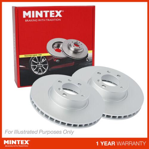 New VW Polo 6N1 60 1.4 Genuine Mintex Front Coated Brake Discs Pair x2