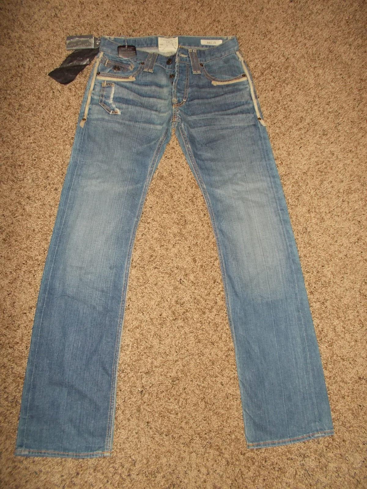 NWT  120.00 Jimmy Taverniti MEG 17 Denim Jeans 29x32 Women's Straight Leg sku2