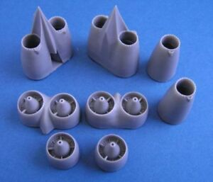 Pavla-1-72-B-47C-Upgrade-Engine-Nacelle-Front-Parts-Jet-Pipes-Hasegawa-U72141
