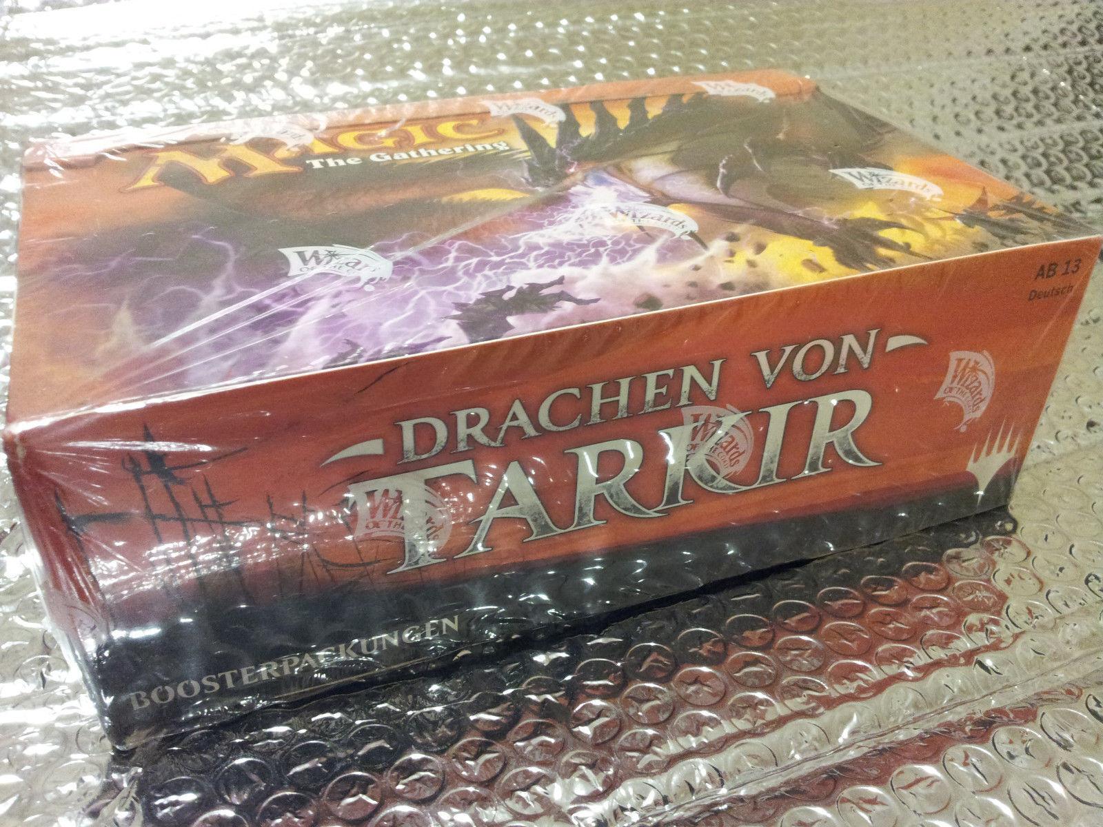 GERMAN Magic MTG Dragons of Tarkir DTK DTK DTK Factory Sealed Booster Box the Gathering 91efb0
