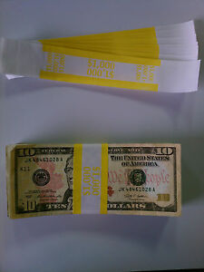 5-000-New-Self-Sealing-Currency-Bands-1000-Denomination-Straps-Money-Tens
